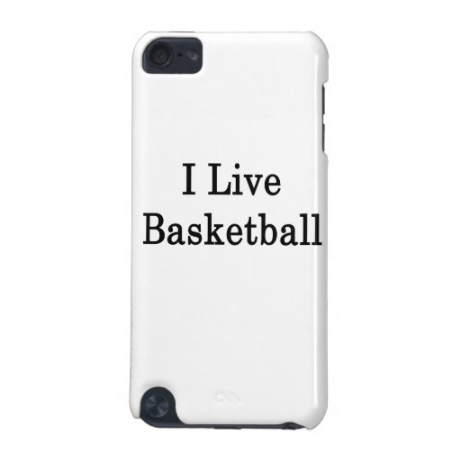 I Live Basketball iPod Touch 5G Cover