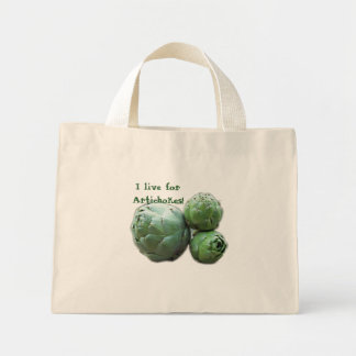 I live for Artichokes! Tote Bag
