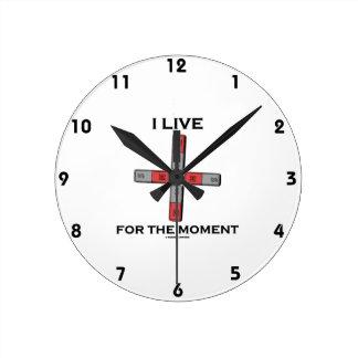 I Live For The Moment (Magnetic Quadrupole Moment) Clocks