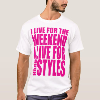 I Live For The Weekend (Showtek) T-Shirt
