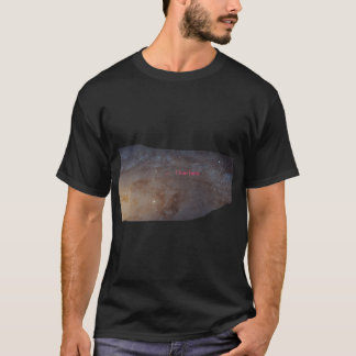 I Live Here, Men's Basic Dark T-Shirt