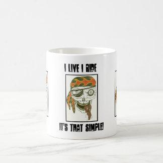 I Live I Ride It's That Simple Mug