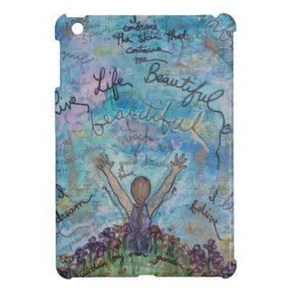 I live life beautiful case for the iPad mini