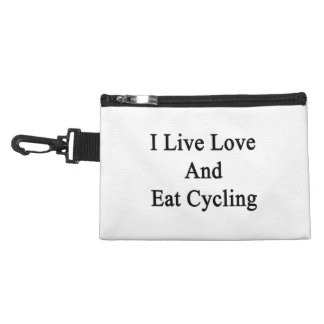 I Live Love And Eat Cycling Accessory Bags
