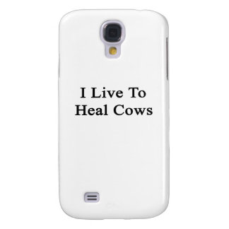 I Live To Heal Cows