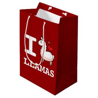 I Llama Llamas Medium Gift Bag