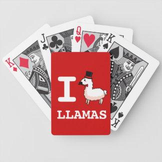 I Llama Llamas Poker Deck