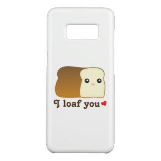 I Loaf You Funny Kawaii Bread Cartoon Food Pun Case-Mate Samsung Galaxy S8 Case