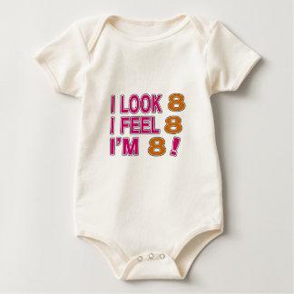 I Look And I Feel 8 Baby Bodysuit