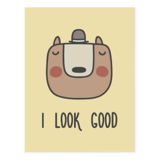 I Look Good Postcard
