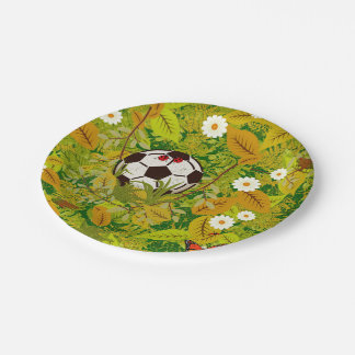 I lost my ball paper plate
