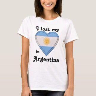 I lost my heart in Argentina T-Shirt