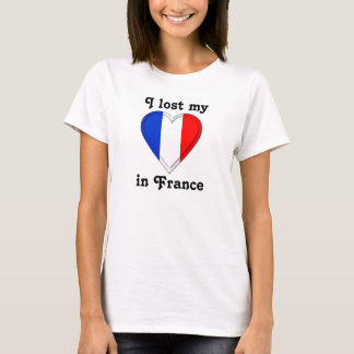 I lost my heart in France T-Shirt