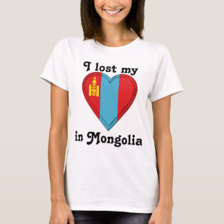 I lost my heart in Mongolia T-Shirt