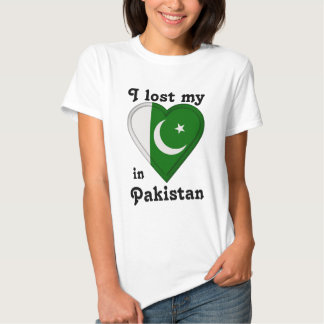 I lost my heart in Pakistan T-shirts