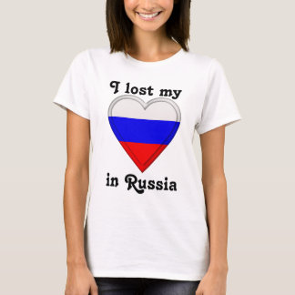 I lost my heart in Russia T-Shirt