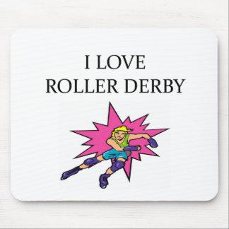 i lov3e roller derby mouse pad