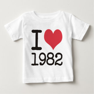 I Love1982 Products & Designs! Baby T-Shirt