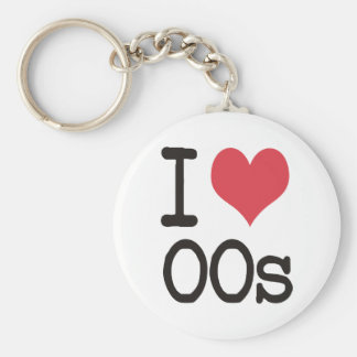 I Love 00s Products & Designs! Key Chain