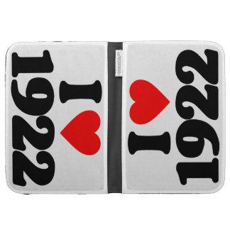 I LOVE 1922 KINDLE KEYBOARD CASES