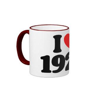 I LOVE 1922 MUG