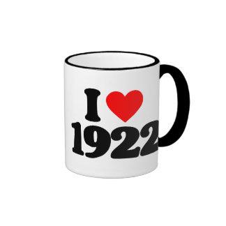 I LOVE 1922 MUGS