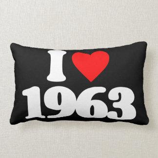 I LOVE 1963 LUMBAR PILLOW