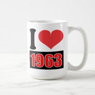 I love 1963 - Mugs