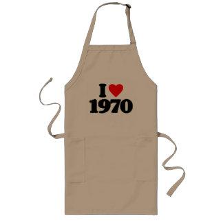 I LOVE 1970 APRON
