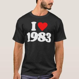 I LOVE 1983 T-Shirt