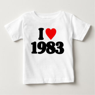 I LOVE 1983 T-SHIRTS