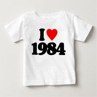 I LOVE 1984 TEE SHIRT