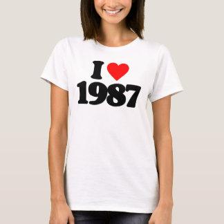 I LOVE 1987 T-Shirt