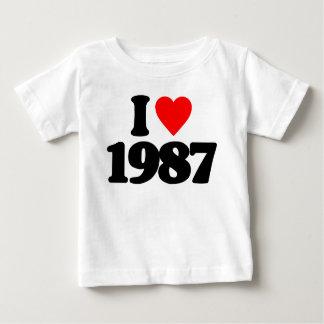 I LOVE 1987 SHIRTS