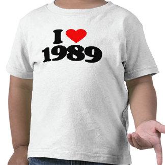 I LOVE 1989 SHIRTS