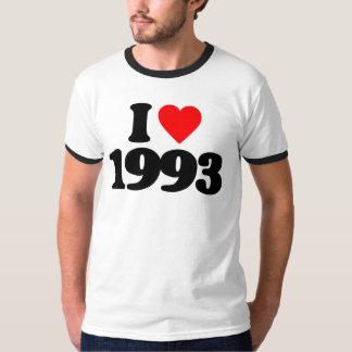 I LOVE 1993 TSHIRT