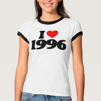 I LOVE 1996 TEE SHIRTS