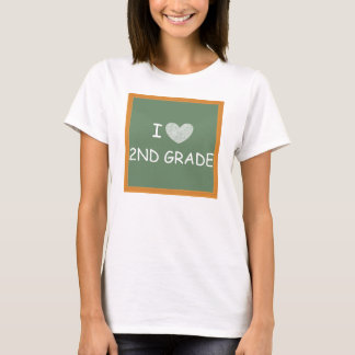 I Love 2nd Grade T-Shirt