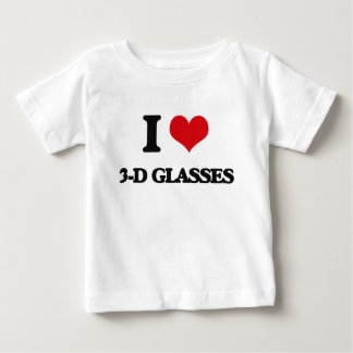 I love 3-D Glasses Tshirts