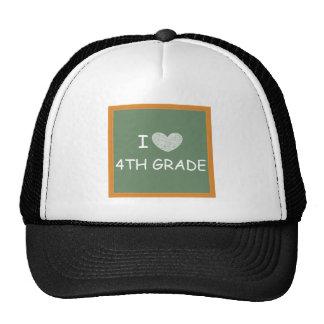I Love 4th Grade Trucker Hat