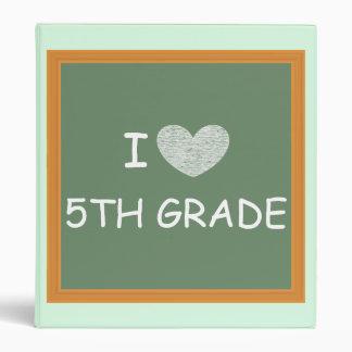 I Love 5th Grade Binder