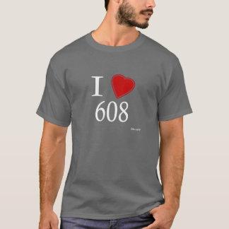 I Love 608 Madison T-Shirt