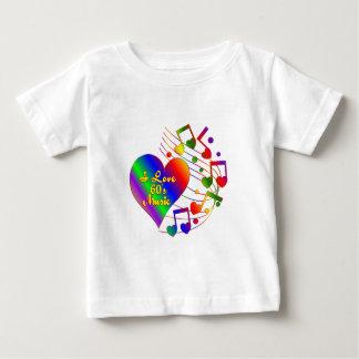 I Love 60s Music Baby T-Shirt