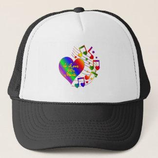 I Love 60s Music Trucker Hat