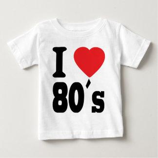 I Love 80 ´s Baby T-Shirt