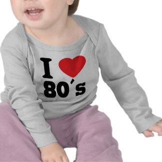 I Love 80 ´s T-shirt