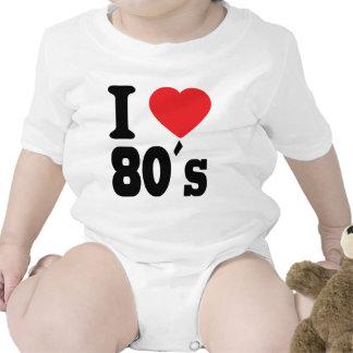 I Love 80 ´s T Shirt