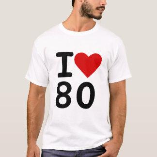 I love 80 T-Shirt