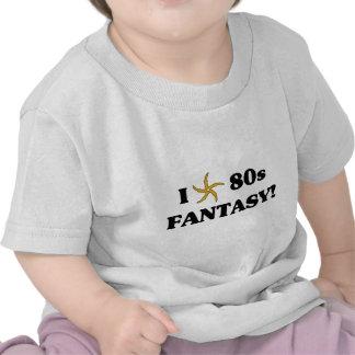 I Love 80s Fantasy T-shirts