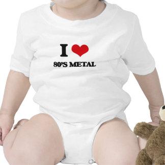 I Love 80'S METAL Bodysuits